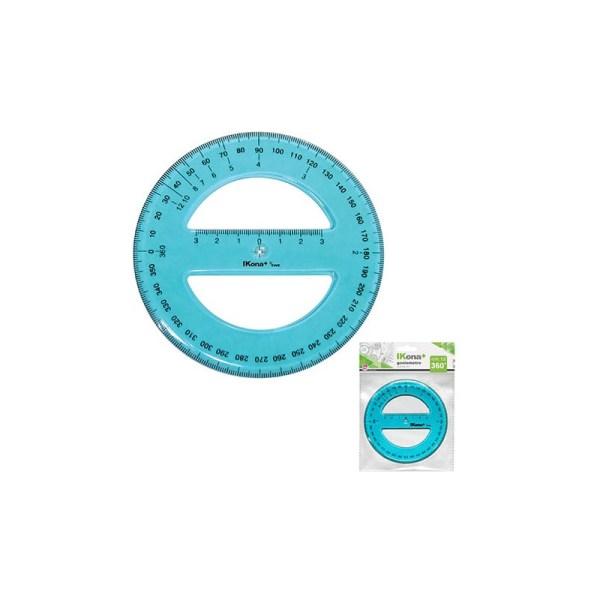 Goniometro circolare 360 diametro 12 cm