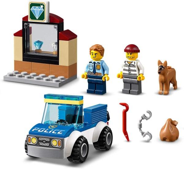 Lego City Unità cinofila della polizia 60241