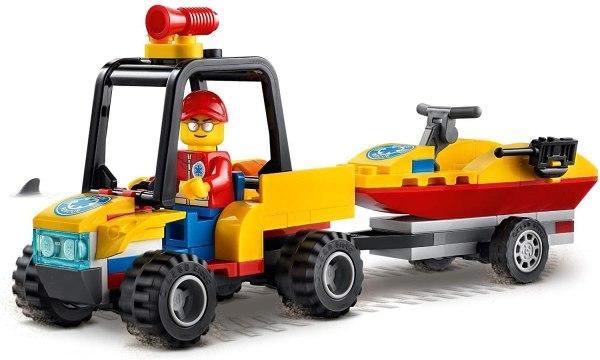 Lego City ATV di soccorso balneare 60286