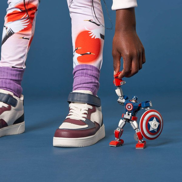 Lego Marvel Armatura mech di Capitan America 76168