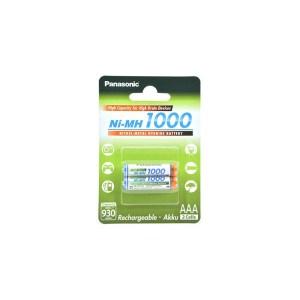 Batterie Ricaricabili Mini Stilo AAA Panasonic 2Pz
