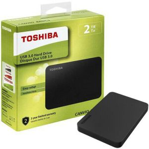 Toshiba Disco Rigido 2TB Hard Drive esterno USB 3