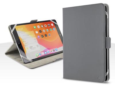 Custodia book EcoPelle serie PANAMA Colore Grigio Universale per Tablet 9-10.2'