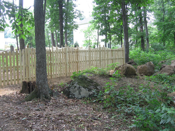 Pressure Treated Pine Fences in Frederick County  Albaugh
