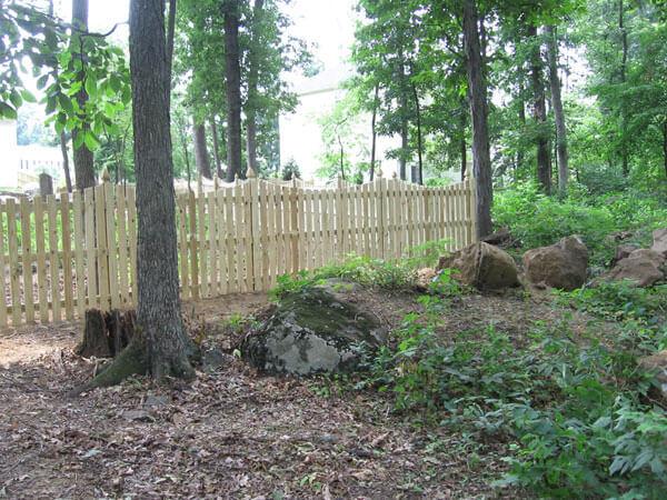 5' Cedar Privacy (aka Fredericktowne Fence)