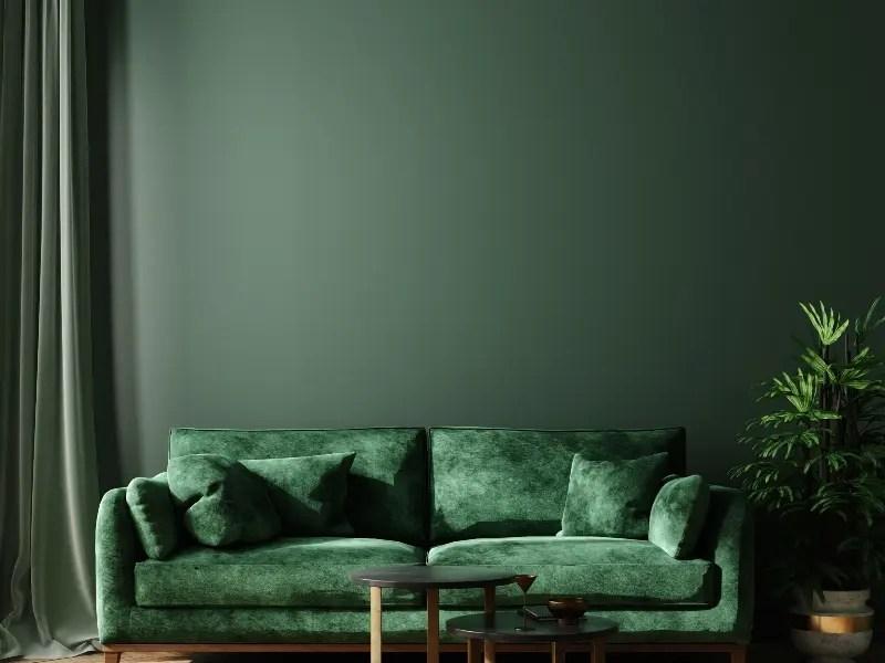 درجات اللون الأخضر في الديكور المنزلي يشعرك بالهدوء