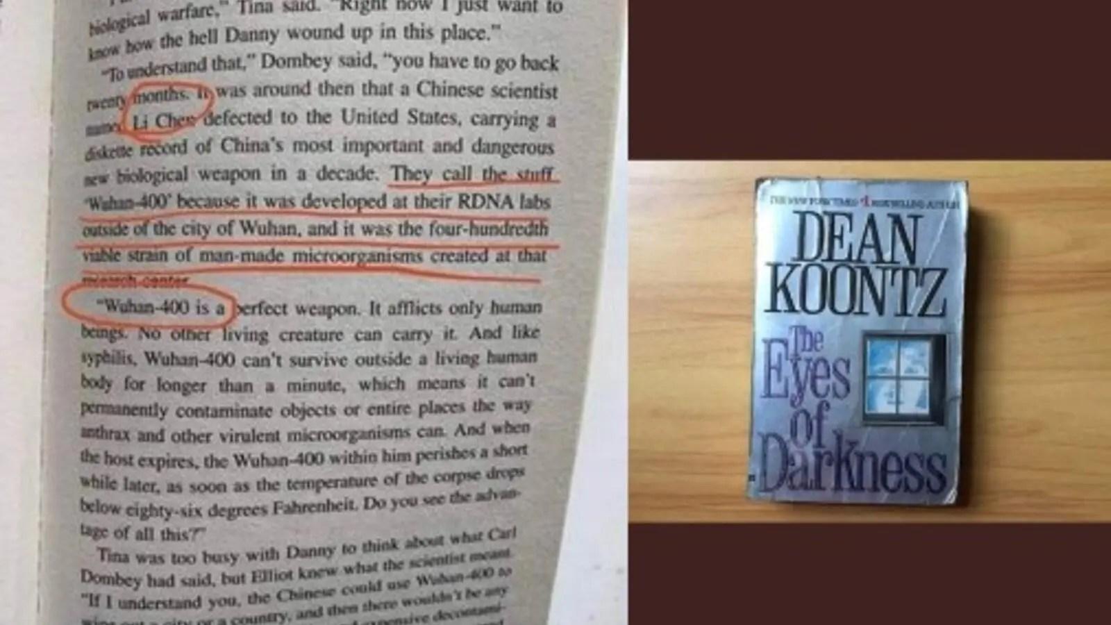 US Author Dean Koontz Predicted The Coronavirus in His 1981 Eye of ...