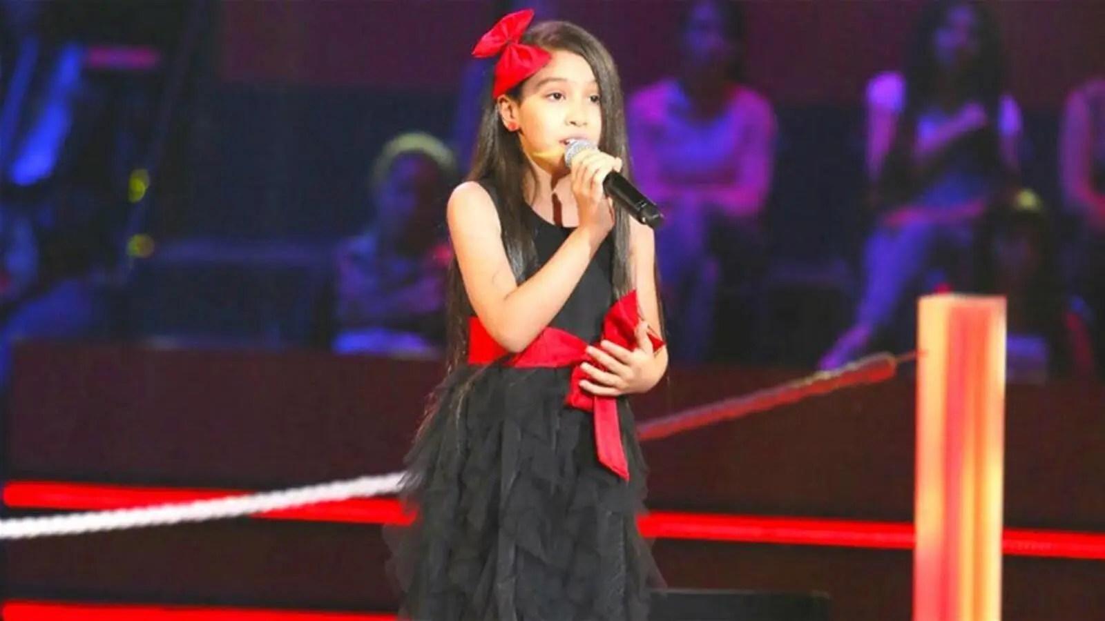 طفلة ذا فويس كيدز جويرية حمدي صارت صبية البوابة
