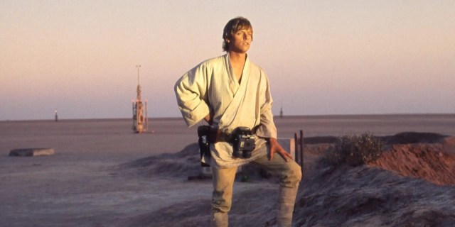 Αποτέλεσμα εικόνας για tatooine sunset 1977
