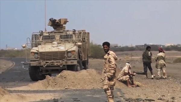 قوات الجيش تصد هجوما لمليشيا الحوثي باتجاه حيس في الحديدة