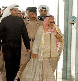 تنحية سعد بإجماع النواب وتسمية صباح الأحمد أميرا البيان