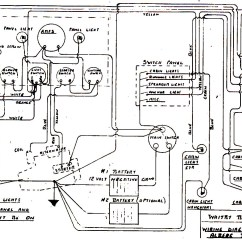 Marine Power Wiring Diagram Usb Cable Electrical Alberg 30
