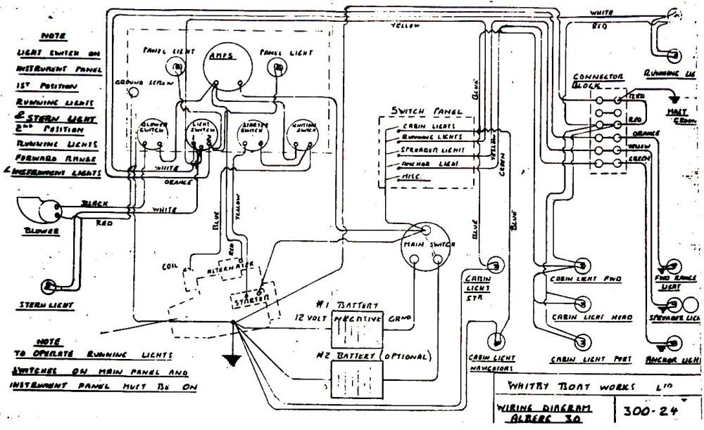 medium resolution of alberg 30 wiring diagram