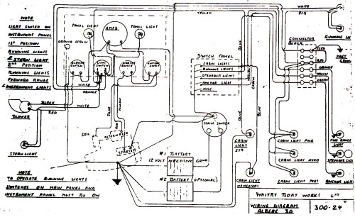 small resolution of alberg 30 wiring diagram