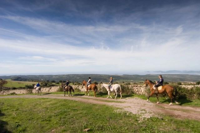 Paseggiate a cavallo in Sardegna