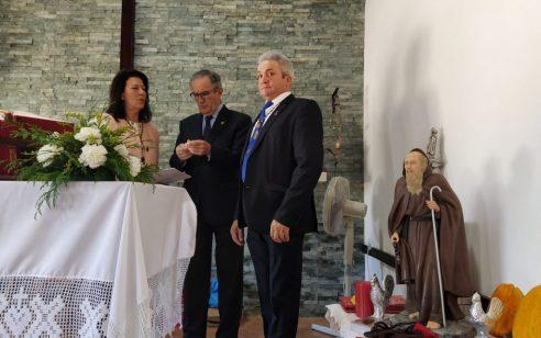 ENTREGA DE LA IMAGEN DEL SANTO EN EL PALMAR (CÁDIZ)