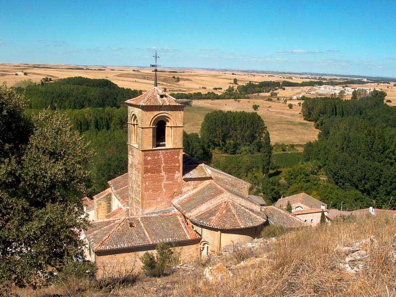 Iglesia románica de Caballar.