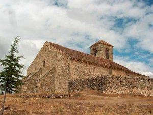 Albergue La Palaina. El entorno. Iglesia de La Cuesta.