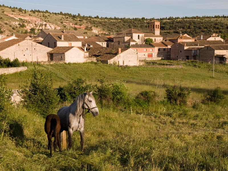 El Guijar. Vista desde la Fuente Vieja.