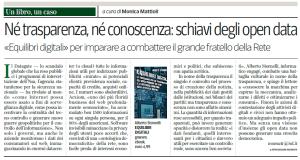 Recensione su Corriere del Mezzogiorno del 27 ottobre 2014