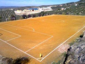 Campo de fútbol de Chilluevar | Archivo