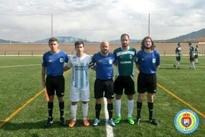 Colegiados y capitanes en el Arroyo - Úbeda   CF Arroyo