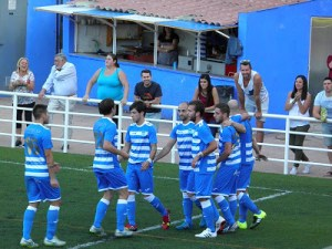 El Cazorla celebra un gol | Blog Cazorla