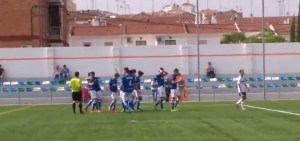 Celebración del gol de Romero | Rincón Deportivo
