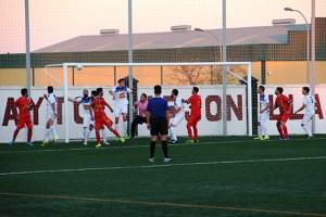 Gol de Aitor para el Arjonilla ante el Carolinense | Alfonso Nevado