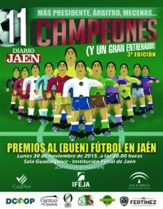 Cartel de la gala | Diario Jaén
