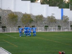 Celebración de un gol del Cazorla | Blog Cazorla