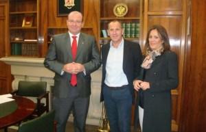 Ildefonso Ruiz se reunió con Javier Márquez y Charo Morales | Diario Jaén