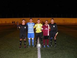Capitanes y árbitros del Jódar - Cazorla | Blog Cazorla
