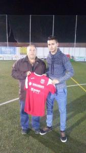 Diego Jopi con la camiseta del Torreperogil | CD Torreperogil
