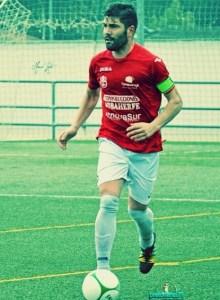 Pipa, capitán del CD Torreperogil | Manuel Zapata