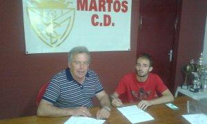 Romero estampa su firma   Martos CD