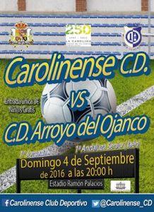 Cartel del partido | Carolinense CD