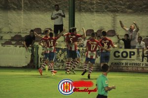El UDC Torredonjimeno celebra la victoria | https://www.facebook.com/Canal-Lagarto