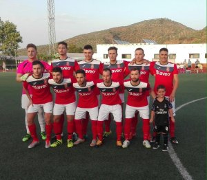 Once del Vilches ante el Mancha Real | CD Vilches