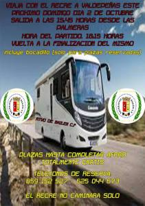 Promoción para viajar con el Bailén   Recreativo Bailén