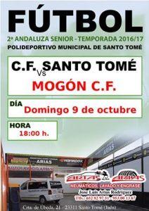 Cartel del partido | Santo Tomé CF