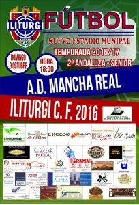Cartel del partido   Iliturgi CF