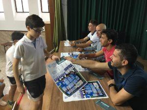 Acto en el colegio | Linares Deportivo