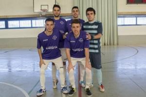 Formación titular en Jaén   AD Porcuna Futsal