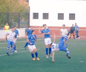 Efraín anotaba así el gol clave del partido | CD Vilches