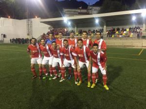 Once del Quesada ante el Mogón CF   Andrés Izquierdo