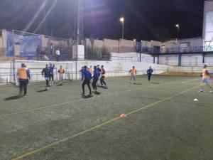 Primer entrenamiento con Juan Andrés | CD Villanueva