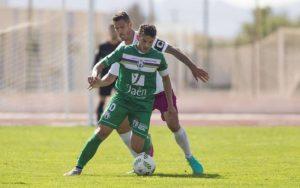 Elady en un partido de esta temporada | Atlético Mancha Real