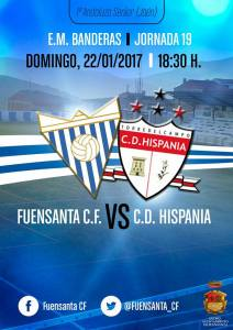 Cartel del partido | Fuensanta CF