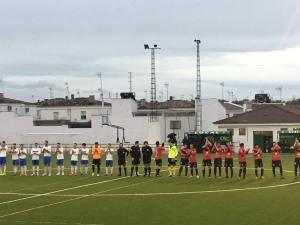 Saludo inicial en el Lopera - Alcalá   Lopera Digital